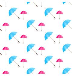 Rainwater umbrella seamless pattern vector
