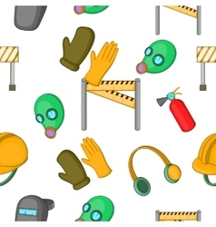 Building tools pattern cartoon style vector