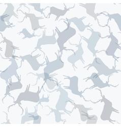 Christmas reindeer seamless pattern EPS10 vector image