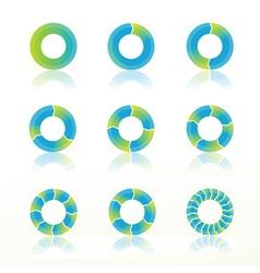 diagrams vector image