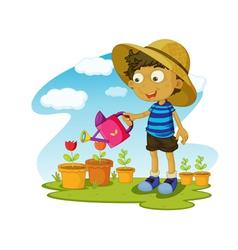 Gardening vector