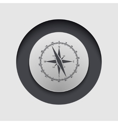 modern circle icon Eps10 vector image