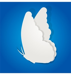 Paper butterfly vector