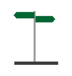 street sign icon image vector image
