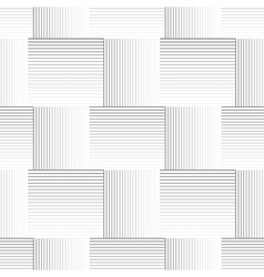 Striped geometric pattern vector image
