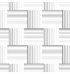 Striped geometric pattern vector