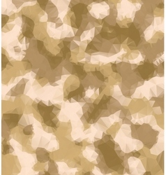 Triangle military camouflage background vector image