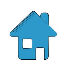 home page web symbol vector image
