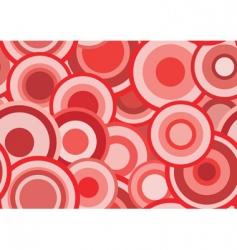 retro red texture vector image
