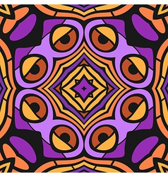 Cartoon Abstract Seamless Pattern vector image