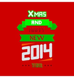 concept new year typographical background Eps10 vector image