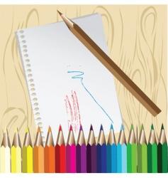 art materials vector image
