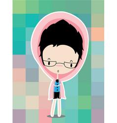 cartoon people teenagers clip art vector image