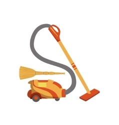 Floor cleaninghousehold equipment set vector