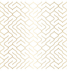 geometric white seamless pattern background vector image