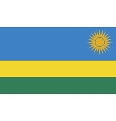 Rwanda flag image vector