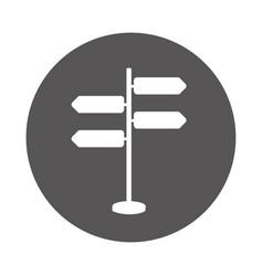 Signal with arrows icon vector