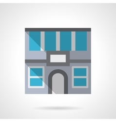 Office rent flat color design icon vector image vector image