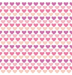 valentine seamless polka dot pattern with colorful vector image
