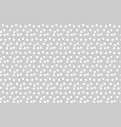 light gray background scattered dots polka vector image