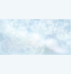 Lights and airy on abstract bokeh effect vector