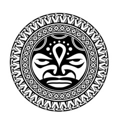 Polynesian tattoo 0003 vector