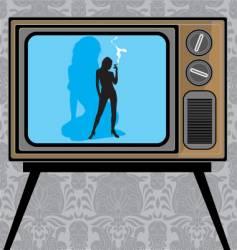 sexy show vector image vector image
