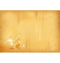 football old background vector image vector image