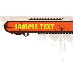 Grunge Splatter Background vector image vector image
