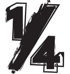 Abstract 14 symbol vector