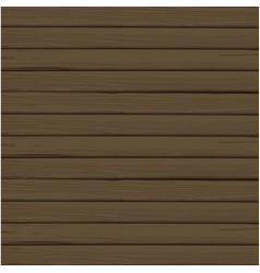 Abstract wood plank in horizontal dark brown vector