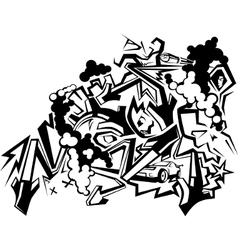 Graffiti Art 1 vector image