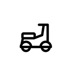moped motorcylcle icon vector image
