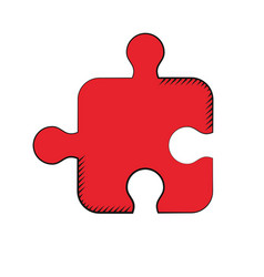 Puzzle strategy creativity solution vector