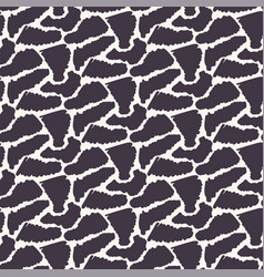 Seamless pattern abstract sylized animal vector