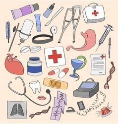Doodle Medical vector image