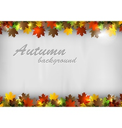 background autumn text vector image