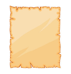 old paper torn parchment symbol icon design vector image
