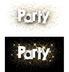 Party paper background vector