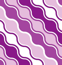 Seamless water wave pattern vector image vector image