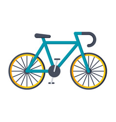 Sport bicycle icon vector