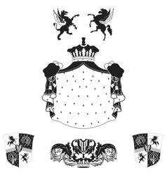 royal vintage frame vector image