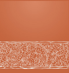 ancient medieval ornament vector image vector image