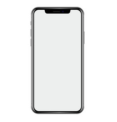 new phone drawing isolated on white background vector image