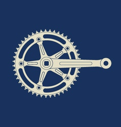 Chainring vector image vector image