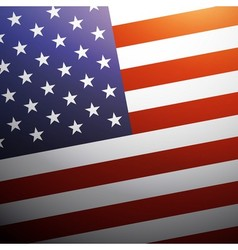 United State of America flag background USA flag vector image vector image