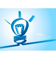 Background with lamp vector