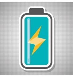 Battery icon design vector image