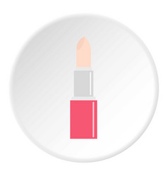 Chapstick icon circle vector