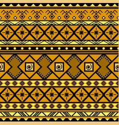 geometric tribal seamless pattern vector image